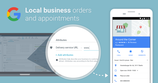 Your very own booking service, directly within Google Search and Maps