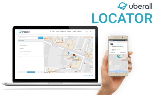 No more hide & seek: Search, filter and find with Uberall's Locator