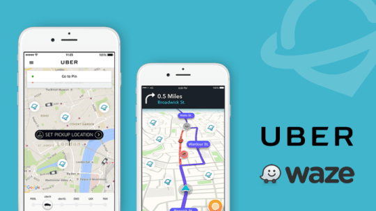 Waze & Uber - two strong networks in the Listings Network from Uberall