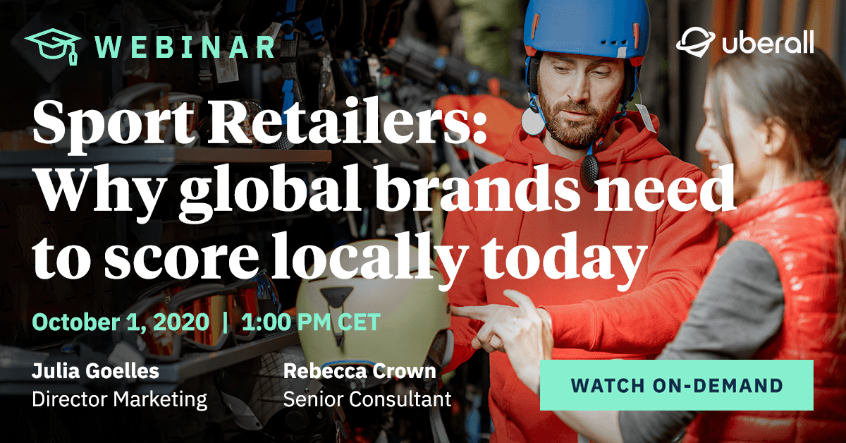 Sport Retailers: Why global brands need to score locally today