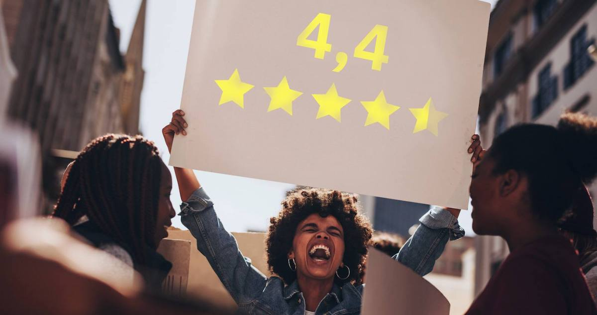 STUDY: For Brick-And-Mortar Businesses, a Small Increase in Online Star Ratings Boosts Conversion by 25%