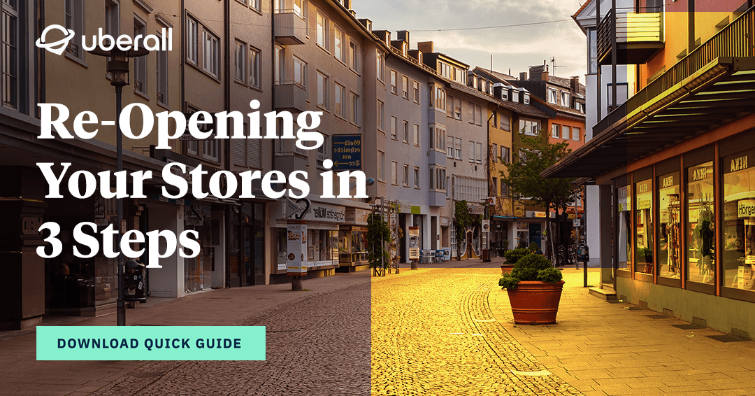 Quick Guide: Reopening shops in 3 steps
