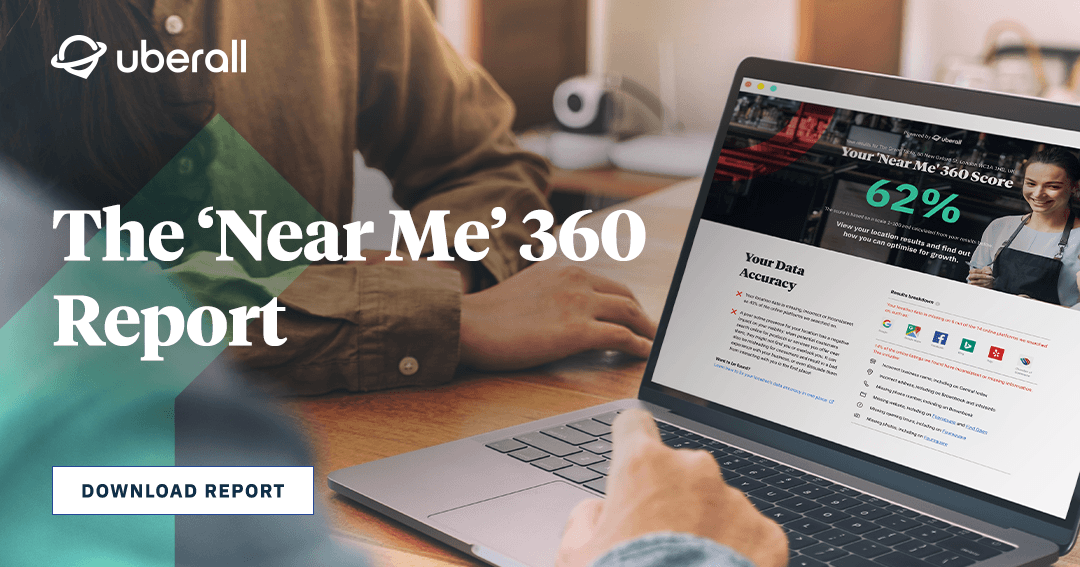 'Near Me' 360: The Game Changing New Tool for Benchmarking Online Performance
