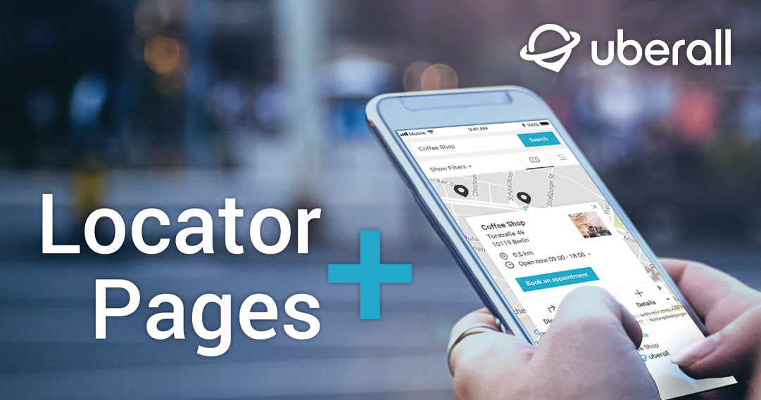 Uberall Locator + Pages ist da!