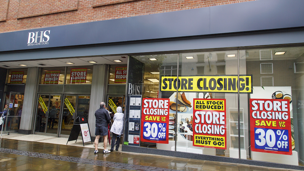 Uberall Research Shows Struggling UK Department Stores