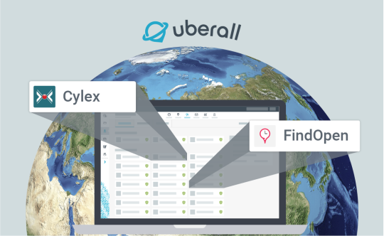 Cylex and Find Open in Uberall's Listings Network